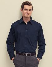 Men`s Long Sleeve Poplin Shirt