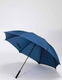 Windproof Fibreglass Umbrella With Soft Handle