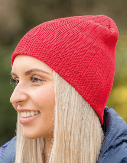 Delux Double Knit Cotton Beanie Hat